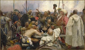 Repin's Cossacks